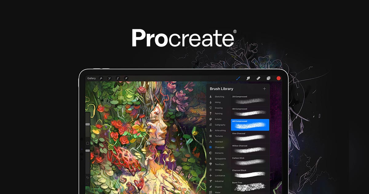 Procreate The Most Powerful And Intuitive Digital Illustration App Available For Ipad