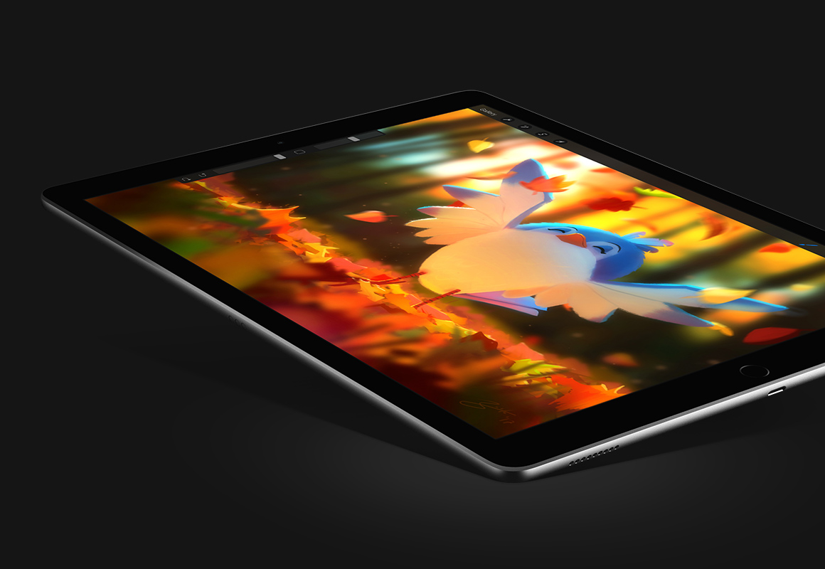 Meet Procreate 4.